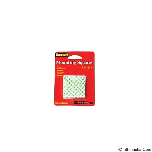 3M Scotch 110-D Mounting Tape Sqauare 1
