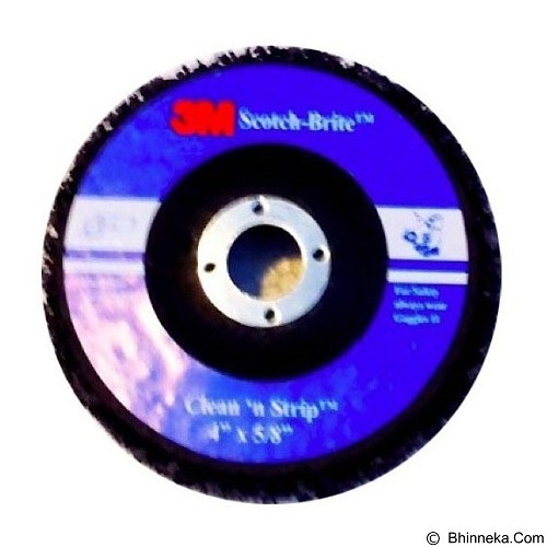3M Scotch-Brite Clean and Strip Disc 4x5/8 in (Merchant) - Mesin Amplas / Sander