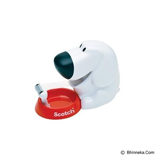 3M Scotch C-31 Dispenser Tape Dog 3/4'x 7.6M - Isolasi / Solatip