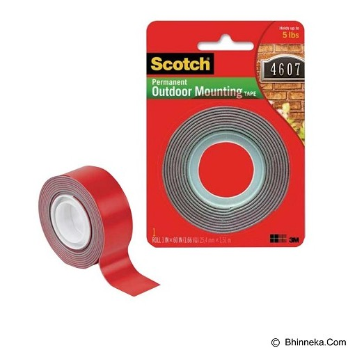 3M Scotch Permanent Outdoor Mounting tape [4011] (Merchant) - Double Tape
