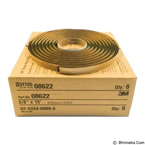 3M Window-Weld Round Ribbon Sealer 3/8 in x 15 ft roll [8622] (Merchant) - Organizer Mobil