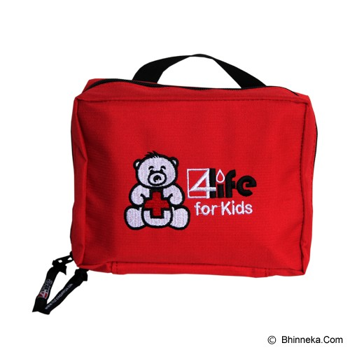 4LIFE Kiddies kit with Contents- Red - Peralatan P3k / Medical Kit