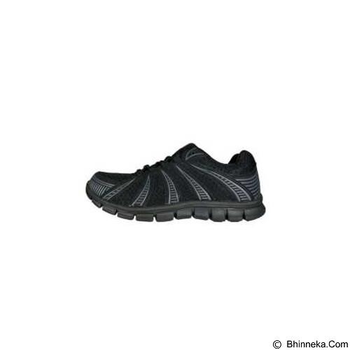 910 Nt Lite Fly Size 42 - Black / Dark Grey (Merchant) - Sepatu Lari Pria