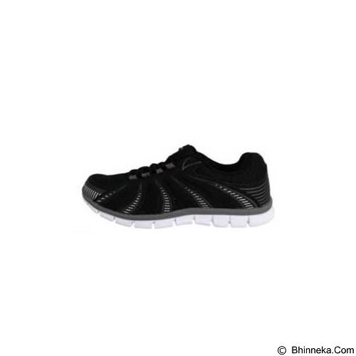 910 Nt Lite Fly Size 43 - Black / Dark Grey / White (Merchant) - Sepatu Lari Pria