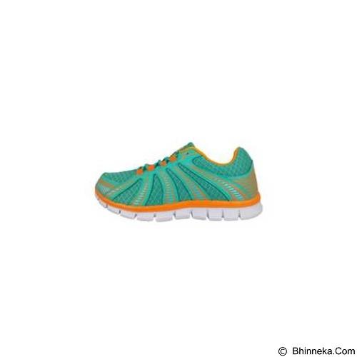 910 Nt Lite Fly Women Size 39 - Turquiose / ORange Blaze (Merchant) - Sepatu Lari Wanita