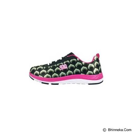 910 Oranio Size 36 - Black / Hot Pink / White (Merchant) - Sepatu Lari Wanita