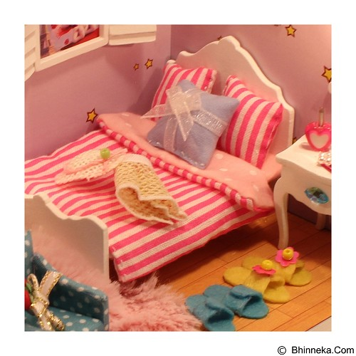 A1TOYS DIY Miniature House Kamar Princess [SM] (Merchant) - 3d Puzzle