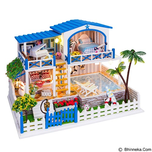 A1TOYS Dollhouse DIY Rumah Film You Who Came From The Star [YWCFTS] (Merchant) - 3d Puzzle