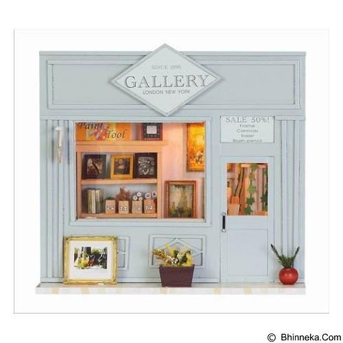 A1TOYS Miniature House DIY Art & Craft Gallery (Merchant) - 3D Puzzle
