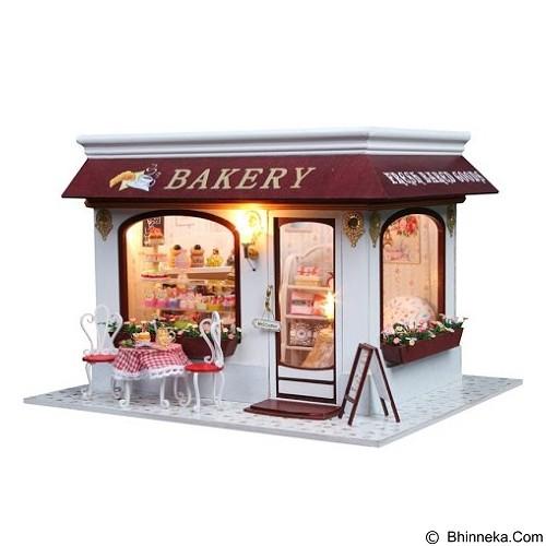 A1TOYS Rumah Rumahan DIY Bakery House (Merchant) - 3D Puzzle