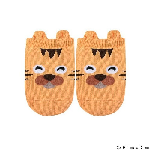 ABBY BABY Animal Ankle Sock Cat Size S (Merchant) - Kaos Kaki Bayi dan Anak