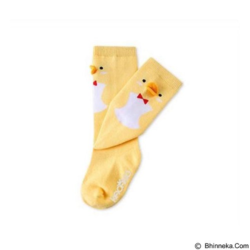ABBY BABY Animal High Knee Sock Chicken Size S (Merchant) - Kaos Kaki Bayi dan Anak