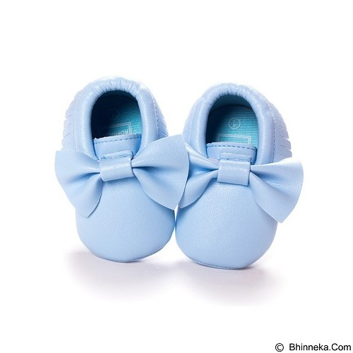 ABBY BABY Ribbon Shoes Size M - Blue (Merchant) - Sepatu Anak