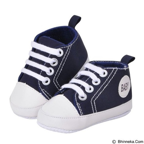 ABBY BABY Sneaker Shoes Size S - Navy (Merchant) - Sepatu Anak