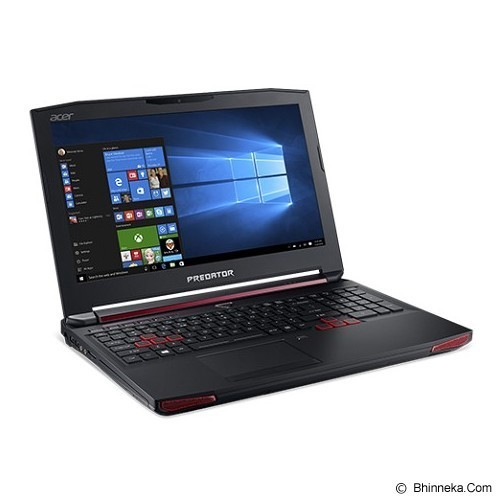 ACER Predator 15 G9-592G (Core i7-6700HQ Win 10) - Black (Merchant) - Notebook / Laptop Gaming Intel Core I7