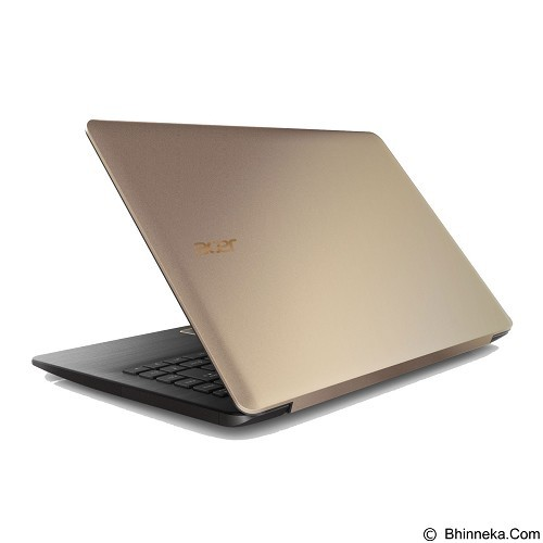 ACER One 14 L1410 Non Windows (Celeron N3050) - Gold (Merchant) - Notebook / Laptop Consumer Intel Celeron