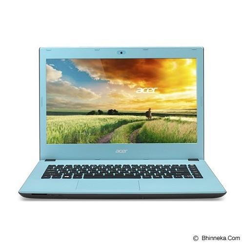 ACER Aspire E5-473 Non Windows (Core i3-4005U - Nvidia 2GB) - Ocean Blue - Notebook / Laptop Consumer Intel Core I3