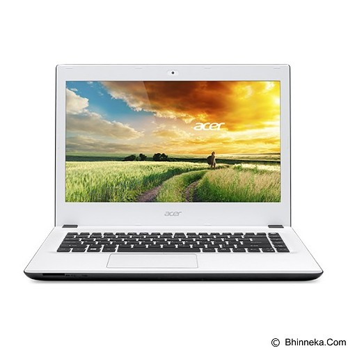 ACER Aspire E5-473G (Core i5-4210U Non Windows) - White (Merchant) - Notebook / Laptop Consumer Intel Core I5