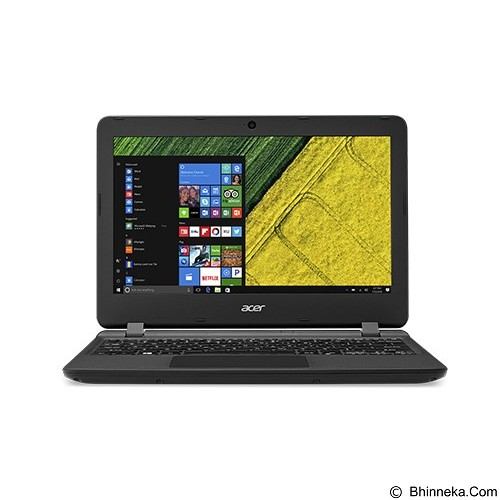 ACER Aspire ES1-132 Non Windows (Celeron N3350) - Black (Merchant) - Notebook / Laptop Consumer Intel Celeron