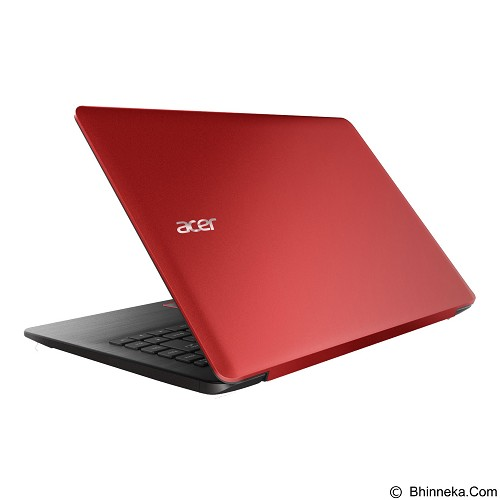 ACER One 14 L1410 Non Windows (Celeron N3050) - Red (Merchant) - Notebook / Laptop Consumer Intel Celeron