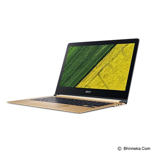 ACER Swift 7 (Core i7-7Y75) [NX.GK6SN.001] - Gold - Notebook / Laptop Consumer Intel Core I7