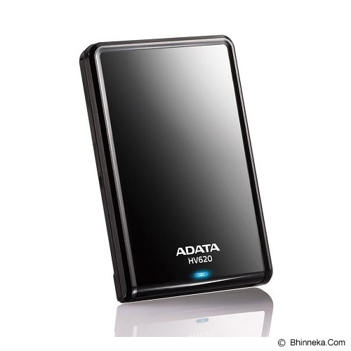 ADATA External Hard Drive 2TB [HV620] - Black - Hard Disk External 2.5 Inch