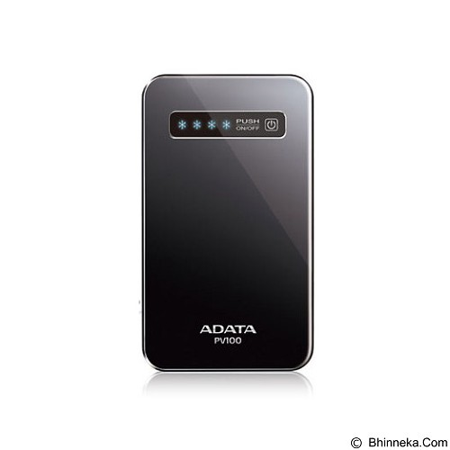 ADATA Powerbank 4200mAh [PV100] - Black (Merchant) - Portable Charger / Power Bank