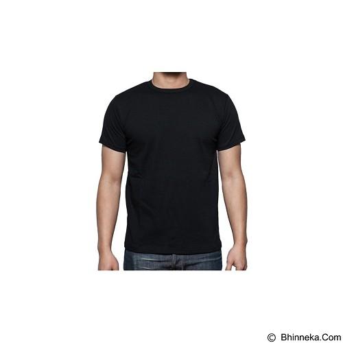ADHERA CLOTHING Kaos T-shirt Size M [plshtm-m] - Black - Kaos Pria