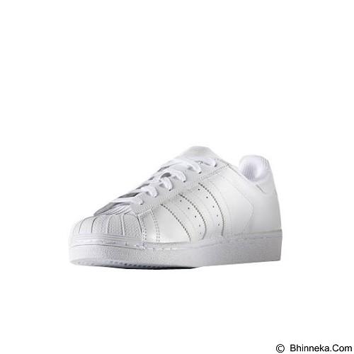 ADIDAS Women's Originals Superstar Shoes Size 9 [S85139]- White Ftw (Merchant) - Sepatu Lari Wanita