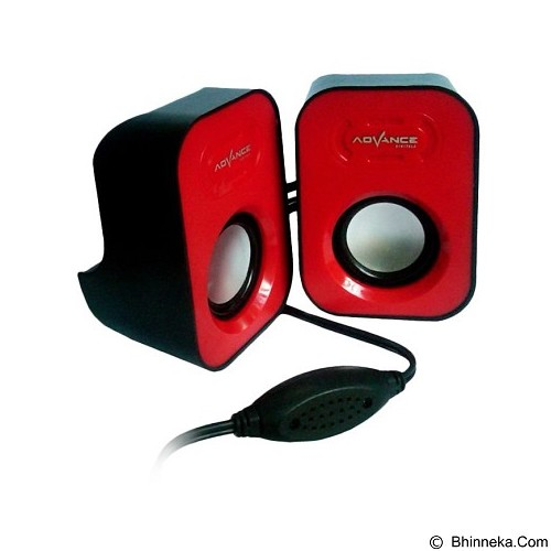 ADVANCE Speaker Duo [026] - Red (Merchant) - Speaker Portable