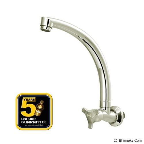 AER Brass Kitchen Faucet Wall Mounted [ACR 03C] - Keran