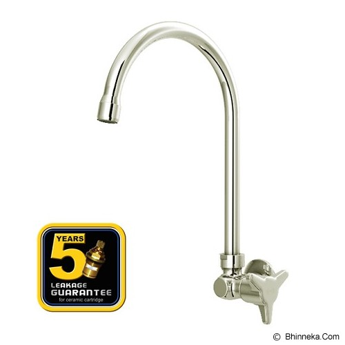 AER Brass Kitchen Faucet Wall Mounted [AOV 09BX] - Keran
