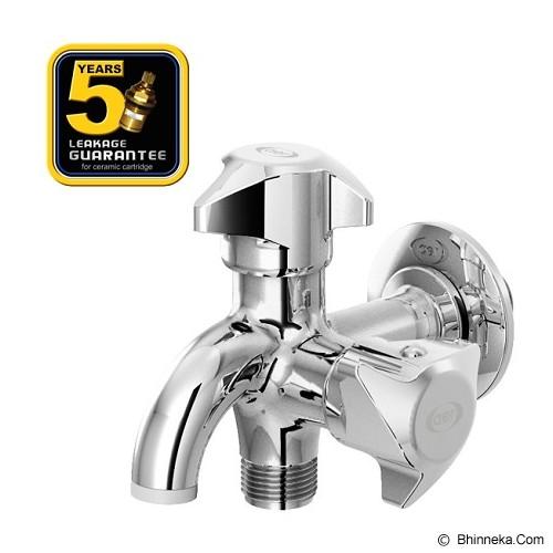 AER Brass Double Faucet [D 33B] - KERAN