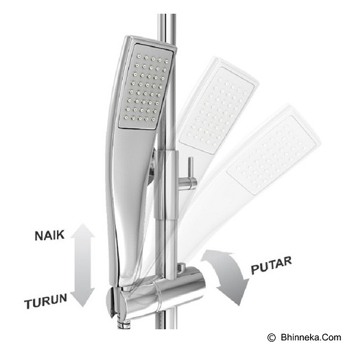 AER Mixer Shower Set Panas-Dingin [MS-4] (Merchant) - Shower