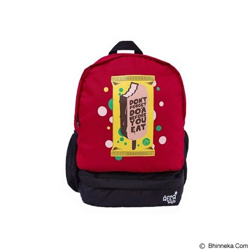 AFRA KIDS First Backpack Do'a Before You Eat - Tas Anak