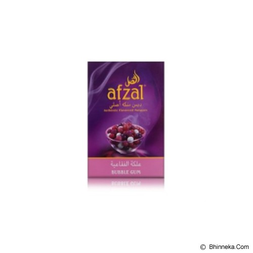 AFZAL Perasa Shisha Bubble Gum 50 gram - Vape