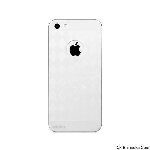AHHA Alves Slim Clamshell Casing for iPhone 5 or iPhone 5S - White (Merchant) - Casing Handphone / Case