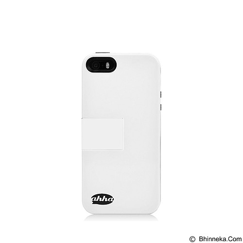 AHHA Archer Kickstand Casing for iPhone 5 or 5s - White (Merchant) - Casing Handphone / Case