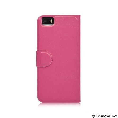 AHHA Arias Magic Flip Case Apple iPhone 5S - Fuchsia (Merchant) - Casing Handphone / Case