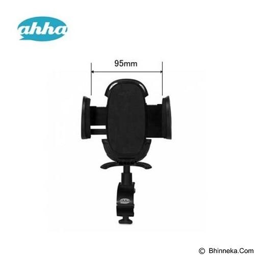 AHHA Bend Mount Holder Dashboard [A-HR00P095-0711] - Black (Merchant) - Gadget Docking