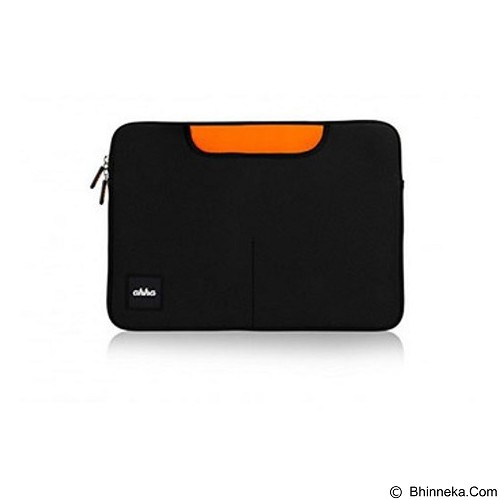 AHHA Clement Universal 11 Inch Tas for MacBook Carrier - Black (Merchant) - Notebook Carrying Case