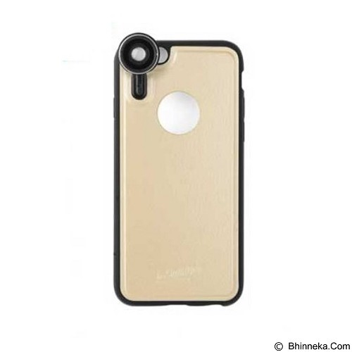 AHHA Golenon Photo Softcase Casing for Apple iPhone 6S with 1 Lensa Ex - Champ Gold (Merchant) - Casing Handphone / Case