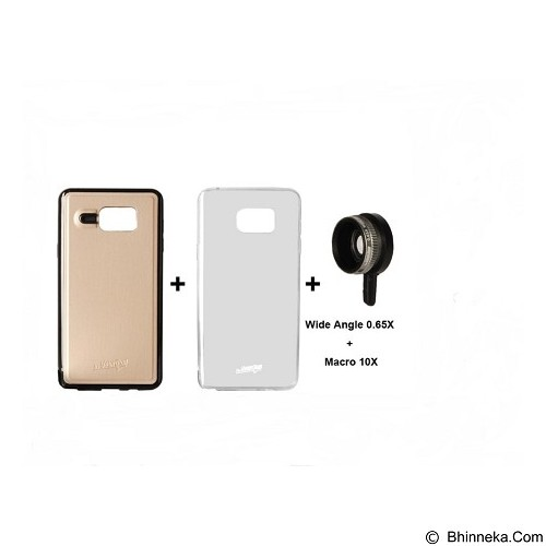 AHHA Hv Golenson Express Photo Kit Samsung Galaxy Note 5 - Champagne Gold (Merchant) - Casing Handphone / Case