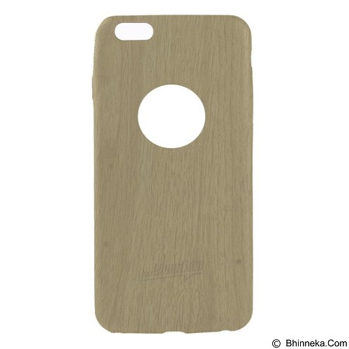 AHHA Hv Skinny Timber Logo Softcase Casing for Apple iPhone 6S - Natural Wood (Merchant) - Casing Handphone / Case