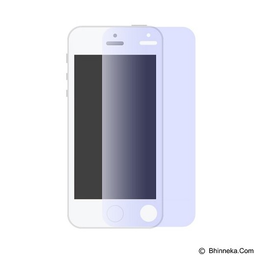 AHHA Ih Monshield Casing for iPhone 5/5s - Blue Blue (Merchant) - Screen Protector Handphone