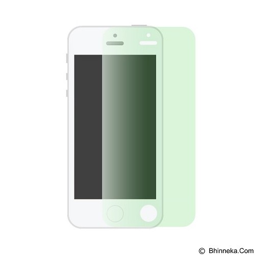 AHHA Ih Monshield Casing for iPhone 5/5s - Green Green (Merchant) - Screen Protector Handphone