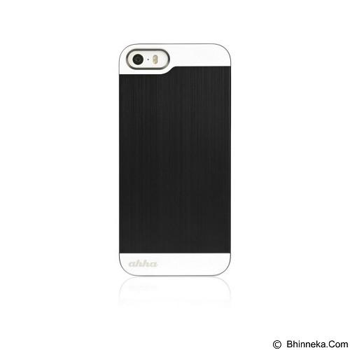 AHHA Jensen Metallic Case Apple iPhone 5/5S [A-MCIH5-0G12] - Gun Black (Merchant) - Casing Handphone / Case