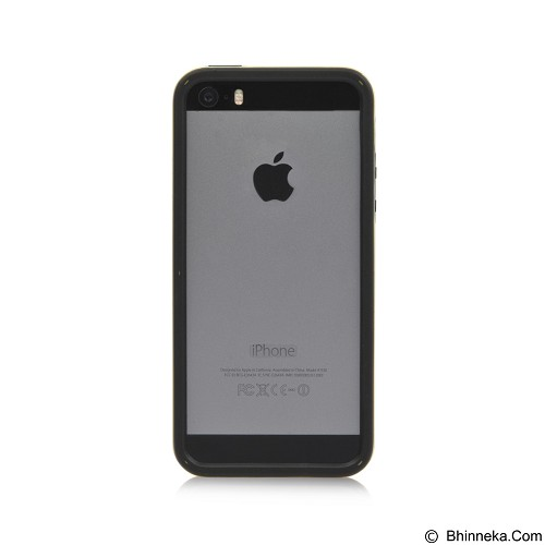 AHHA Joop Soft Bumper Casing for iPhone 5 or iPhone 5s - Black Yellow (Merchant) - Casing Handphone / Case
