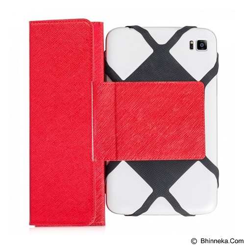 AHHA Kapee Universal Casing for Tablet 7 Inch - Champion Red (Merchant) - Casing Handphone / Case