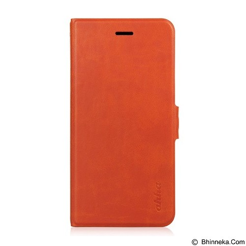 AHHA Kim Flip Case iPhone 6 Plus Spark [A-FPIH655-0K71] - Orange (Merchant) - Casing Handphone / Case